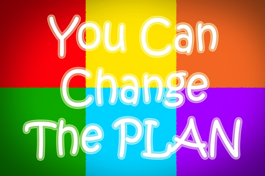 change the plan